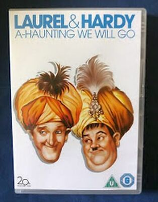 A HAUNTING WE WILL GO Laurel And Hardy COMEDY Region 2 & UK RELEASE • 14.99£