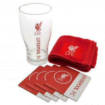 £19.99 • Buy Liverpool Fc Official Mini Bar Set Pint Glass Fathers Day Birthday Gift Xmas