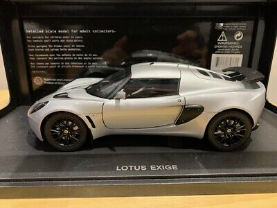 $ CDN599.99 • Buy 1/18 #75361 AUTOART Lotus Exige Silver Extremely Rare Diecast Model Must Have !!
