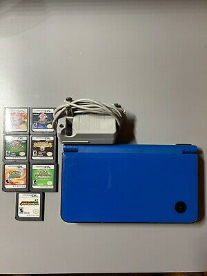 $50 • Buy Nintendo Dsi Xl Blue With 7 Games