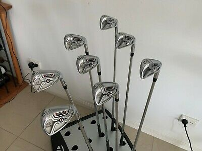 AU319.95 • Buy Adams Golf Xtd Tour Rh Iron Set 4-gw 4-pw + Gw Kbs Tour Stiff Flex Used Q4128