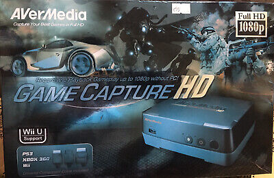 Avermedia Game Capture FULL HD1080,Record Xbox,playstations • 55£