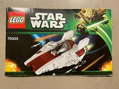 AU41 • Buy Lego 75003 Star Wars, A-Wing Star Fighter, Rare Complete No Box.