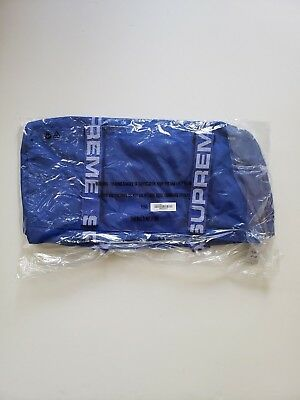 $ CDN317.89 • Buy 🔴supreme Duffle Bag Royal Blue Box Logo S/s 2018 Ss18 Ss 18 Isnt Waist 🔴