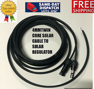 AU22.99 • Buy 3M Twin Core 4mm Solar Cable MC4 Extension Cable From Solar Panel To Regulator