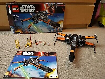 AU70 • Buy LEGO 75102 Star Wars Poe's X-Wing Fighter