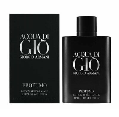 $52.99 • Buy Acqua Di Gio Profumo Aftershave By Giorgio Armani EDP 3.4 Oz Sealed New Box