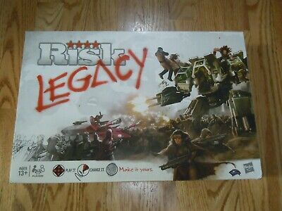 $16 • Buy Risk: Legacy Board Game Partially Used Great For Replacement Pieces