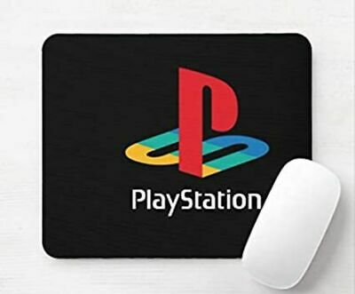 PlayStation Logo Video Games Laptop Desktop Computer Mouse Mat Pad • 5.99£