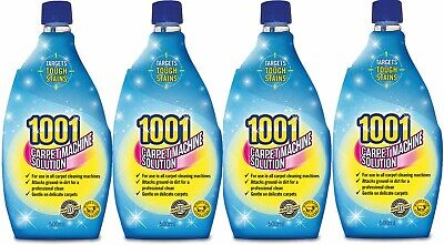 4x 1001 Carpet Machine Shampoo, Carpet Cleaner, 3 In 1, 500ml • 10.40£