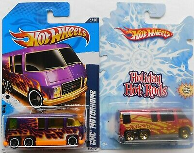 $3.95 • Buy Two Different Hotwheels  Gmc Motor Home