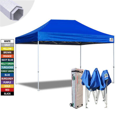 $409.95 • Buy 10X15 Ez Pop Up Canopy Commercial Instant Outdoor Shelter Patio Party Tent