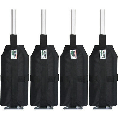 $14.50 • Buy 4pcs Sand Weight Bags For Ez Pop Up Canopy Gazebo Outdoor Instant Tent Shelter