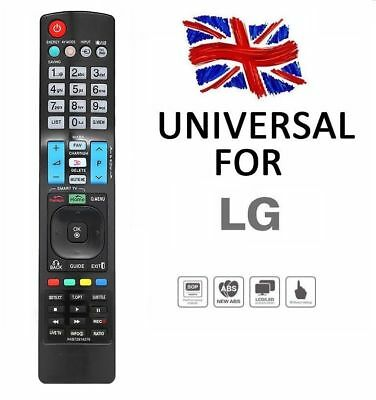 Universal Remote NEW Replacement Control For LG Smart 3D LED LCD HDTV TV APPS • 4.80£