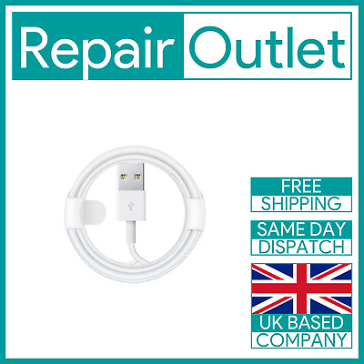£2.99 • Buy Certified 1m Lightning To USB Charging Data Cable For IPhone / IPod / IPad