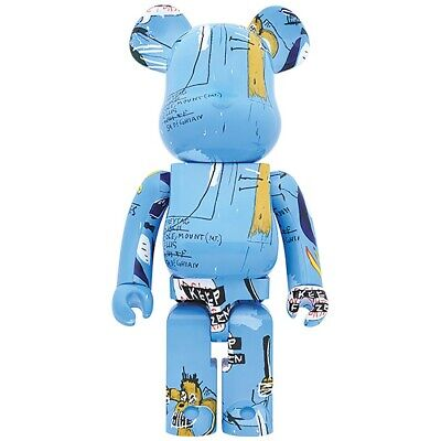 $1800 • Buy Medicom BE@RBRICK Jean-Michel Basquiat #4 1000% Bearbrick Figure