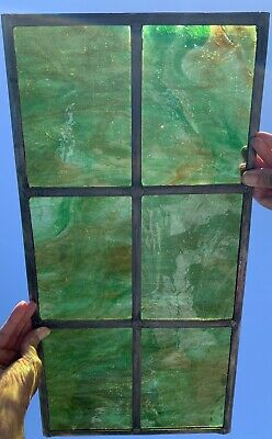 Stained Glass Leaded Window With Opaque Glass • 99.99£