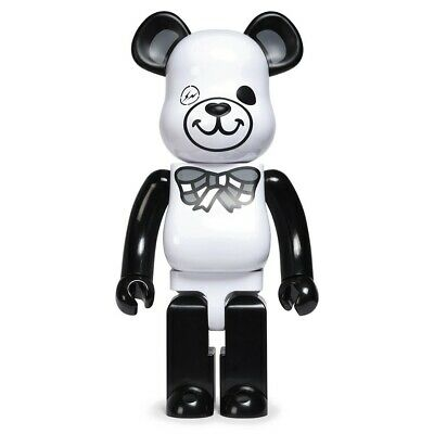 $1200 • Buy Medicom BE@RBRICK X Fragment Design White Freemasonry 1000% Bearbrick Figure