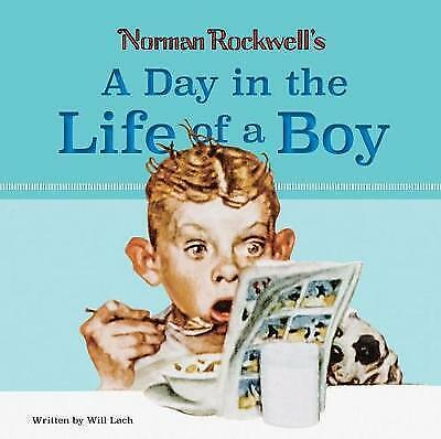 $ CDN13.68 • Buy Norman Rockwell's A Day In The Life Of A Boy By William Lach NEW Book