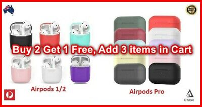 AU4.99 • Buy Shockproof Case Silicone Cover Gel Skin Holder For Apple Airpods Airpod 1 2