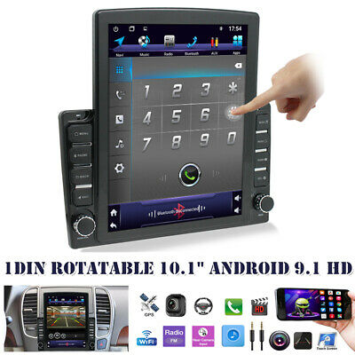 $209.59 • Buy 10.1  Android 9.1 HD 1DIN Quad-core 2+32GB Car Stereo Radio GPS Navi MP5 Player
