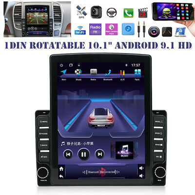 $209.59 • Buy 1DIN 10.1  Android 9.1 HD GPS Navigation WIFI Quad-core 2+32GB Car Stereo Radio