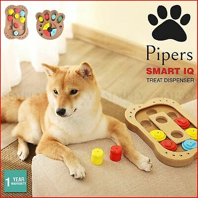 AU25.99 • Buy Pipers Dog Treat Dispenser Toys Food Pet Interactive Cat Puzzle Play IQ Feeding