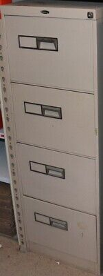 AU90 • Buy Filing Cabinet - Beige - Bendix - 4 Drawer With Key - Second Hand - E13