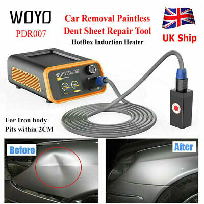 WOYO PDR007 HotBox Induction Heater Car Removal Paintless Dent Sheet Repair Tool • 339£