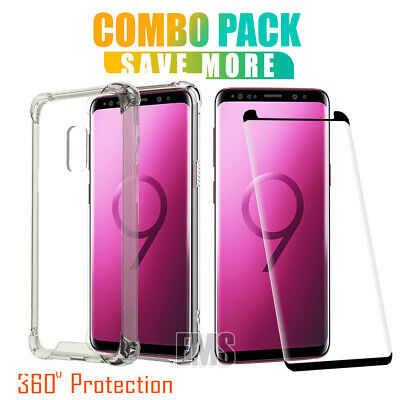 AU12.90 • Buy For Samsung Galaxy S8 S9 Plus S8+ S9+ Clear Case Heavy Duty Gel Shockproof Cover