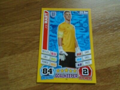 £0.99 • Buy Match Attax 2014 World Cup JOE HART/ENGLAND Card