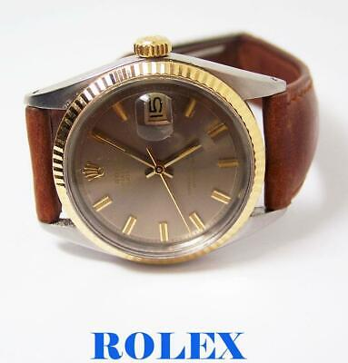 $ CDN5747.38 • Buy Vintage S/Steel & 18k ROLEX DATEJUST Automatic Watch C.1966 Ref.1601* EXLNT