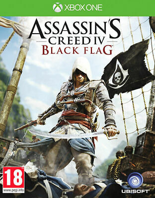 Assassin's Creed IV 4 Black Flag | Xbox One New • 14.99£