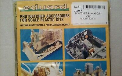 $34.99 • Buy 1/35 Eduard Photoetched M-1070 Added Armor Cab #36217