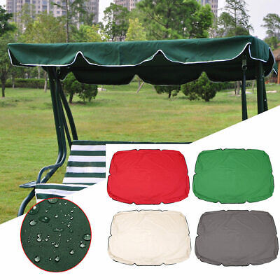 Summer Swing Top Cover Canopy Replacement Furniture Waterproof Cover For Garden • 23.61£