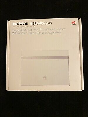 AU50.50 • Buy Huawei B525 300Mbps 4 Port Wireless Router (B525S-65A)