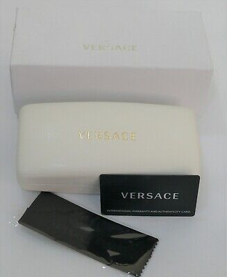 £35 • Buy VERSACE SUNGLASSES LUXURY CASE With Cloth, Papers & Cardboard Box - Brand New