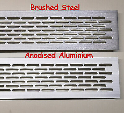 £5.49 • Buy Air Vent Grille Built-in Appliances Ventilation Covers White Black Alu Inox