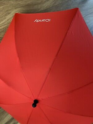 ICandy Sun Parasol Canopy Universal NEW Sealed Uv Protection Baby Pram Red • 15£