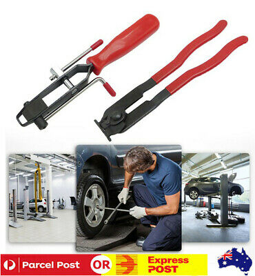 AU27.74 • Buy 2Pcs Ear Type CV Joint Boot Clamp Pliers Set Car Push Banding Install Kit Tools