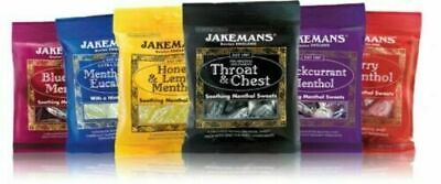 Jakemans Menthol Sweets Lozenges -All Flavours -100g - Throat And Chest Free P&P • 3.29£