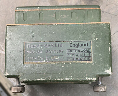 £10 • Buy Racal Comsec Dry Battery Box MA2758