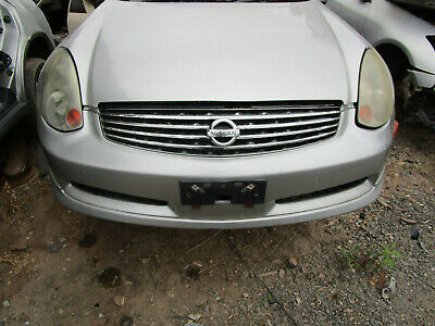 AU350 • Buy Nissan Skyline V35 Coupe Front Bumper (Needs Repairs)