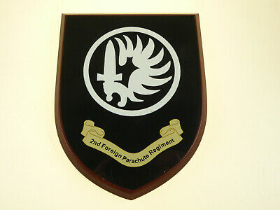 2nd Foreign Legion Parachute Regiment Hand Made Regimental Mess Plaque • 19.99£