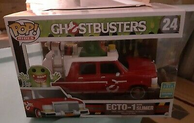 Ecto-1 With Slimer 2016 SDCC Exclusive GhostbustersFunko Pop Rides • 61.87£