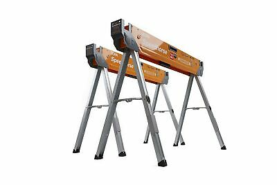 AU227.84 • Buy Bora Speed Saw Horse Table Stand Folding Legs Metal Top 2x4 2 Pack PM4500T New