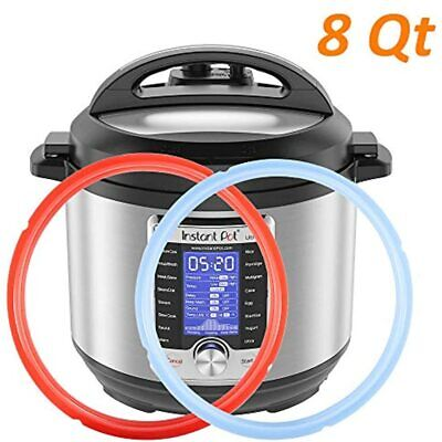 $14.88 • Buy Silicone Sealing Ring For Instant Pot 8Qt Fits Duo Quart Lux Plus Ultra Viva
