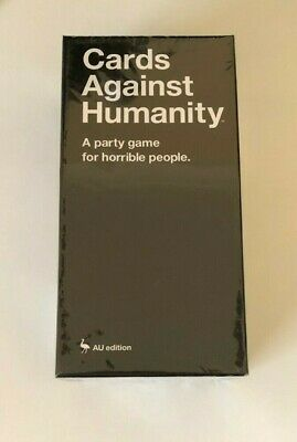 AU24.95 • Buy Cards Against Humanity AU Edition 2.0 Main Game Complete Game