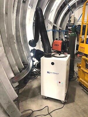 £1230 • Buy Weld Fume Extractor For Factory Use - NEW - CE Marked / Portable - 1.5kw 240v