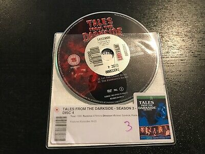 £2 • Buy DISC ONLY - Tales From The Darkside - Season 3 DVD ***** DISC 4  ONLY *****